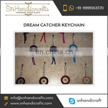 Multi Colour Tiny Dream Catcher Keychain