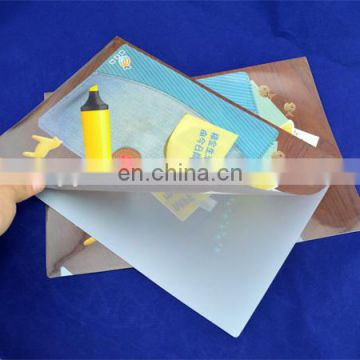 high quality factory price custom plastic file folder a4