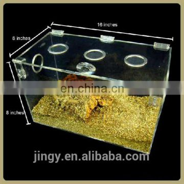 acrylic spider breeding cage reptile cages terrariums