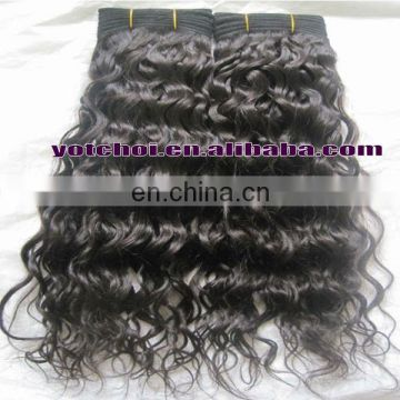 "2013 Hot sale China Qingdao Yotchoi Factory 100% human hair 18"" #1b grade AAAA loose curly hair products"