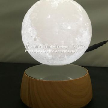 360 spining maglev floating levitating levi moon ball night bulb