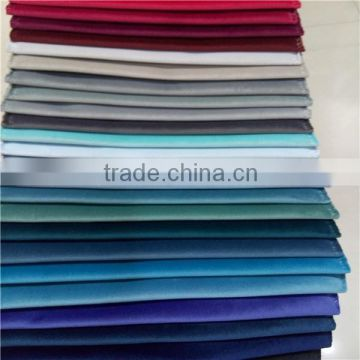 fashion new colors 100% polyester italy shiny velvet tricot fabric turkey