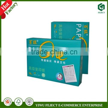 Office Stationery A4 Size Copier Paper 80GSM in Bulk Copy Paper A4 Color Inkjet/laser Printing Photocopy Paper
