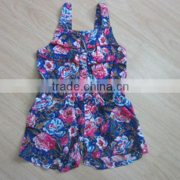 baby dress 2015 flower printed toddler baby smock dresses
