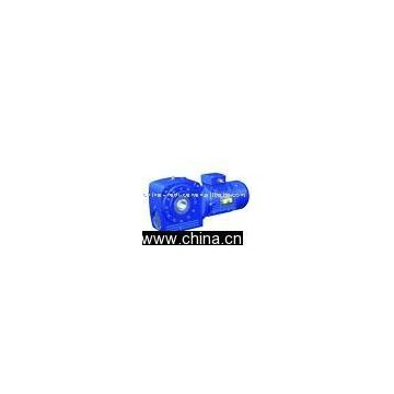 JS Series Bevel-Worm Geared Motor