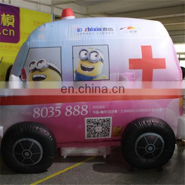 Advertising inflatable car for cosplay