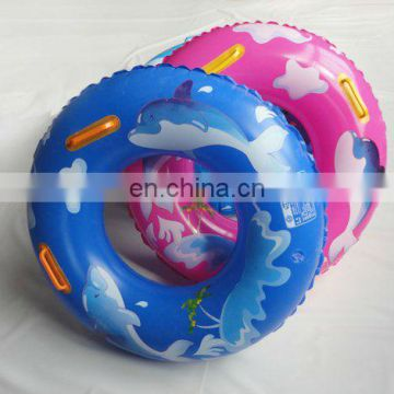 Inflatable Wheel Shaped Swim Ring