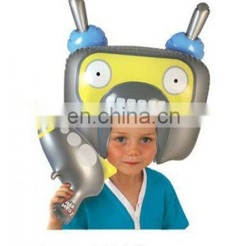 Inflatable Robot Head And Blaster