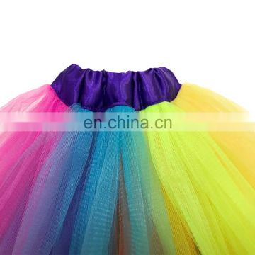 Kids Flower Veils Headband Unicorn Horn Cat Ears Hairband Baby Girl Unicorn Headband Rainbow Tutu Skirt Set