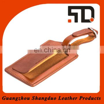 Experienced Manufacture Price Leather Personalized Luggage Tags