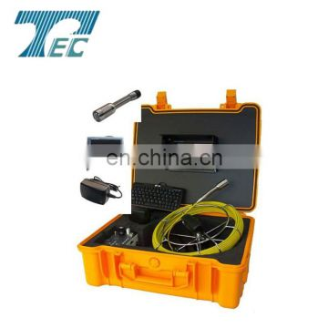 Waterproof 23mm Sewer Pipe Inspetion Camera TEC-Z710DK with Keyboard,DVR