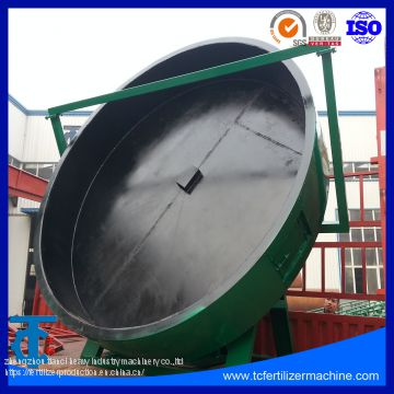 Disc Pan Granulator