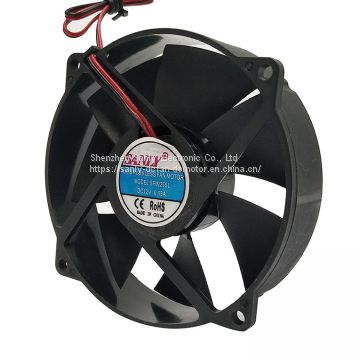 92x24.8mm dc brushless cooling and exhaust usage axial flow fan