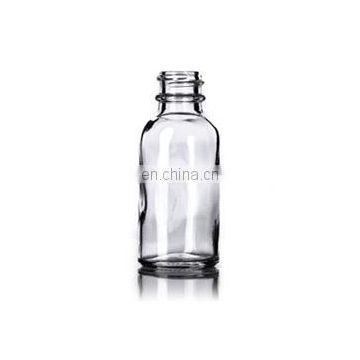 1oz 30ml colorful boston round glass bottle with childproof glass dropper and rubber bulb