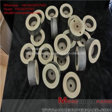 Glass deep processing straight bilateral machine grinding edge consumables polishing wheel Alisa@moresuperhard.com