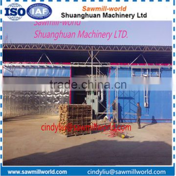 Overseas service available wood drying kilns for sale