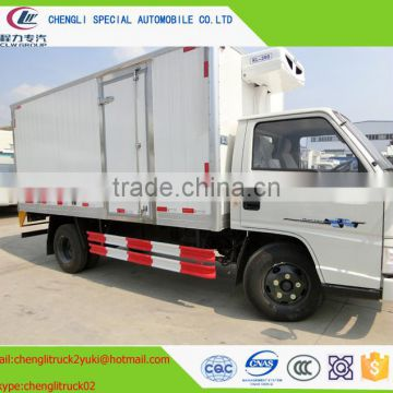 4tons refrigerator van chill car refrigerator car freezer car ice-box car