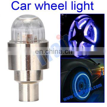 Portable Colorful Car Wheel Flash Light / Car light Highly quality