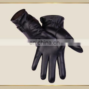 Men's autumn and winter thin riding business gloves