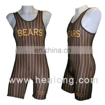 1539fcc2c0d Healong Sport Fully Sublimation Pro Wrestling Singlet No Logo of Wrestling  Singlets from China Suppliers - 157951082