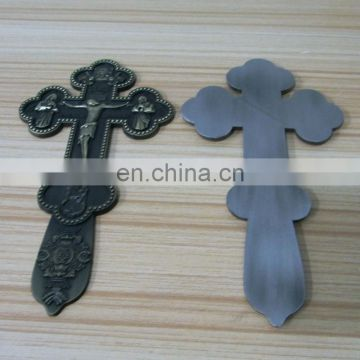 Christian Jesus Cross Metal Wall Decor Trophy Plates