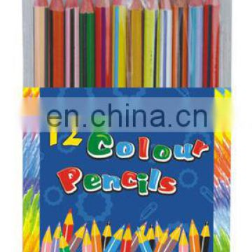 Double Color Wooden Pencil