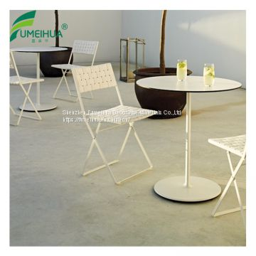 Superb in Quality Phenolic Resin Outdoor High Top Table