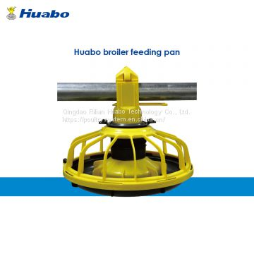 Poultry Pan Feeder for Broiler Chicken