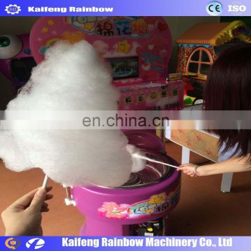 New design cotton candy floss making machine with vending function