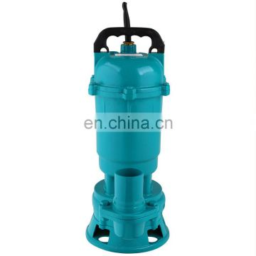 0.75hp 1hp 1.5hp electric dirty water submersible pump pond water pump