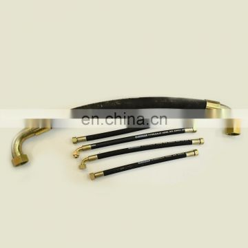 High Pressure Hydraulic Rubber Braided Flexible Hose Assembly