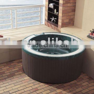 outdoor spa with PS panel
