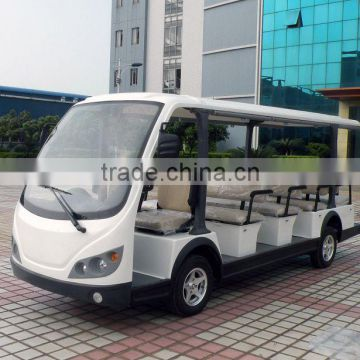 Beautiful design 14 seater airport passenger shuttle bus