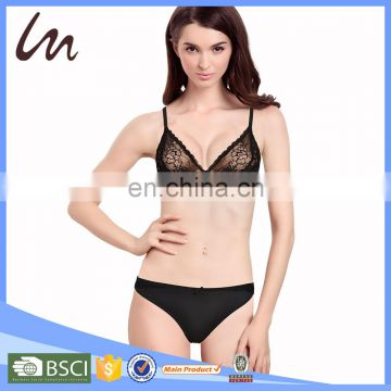western style kids thong underwear sexy fancy lace bra panty set fancy lace bra panty set photo