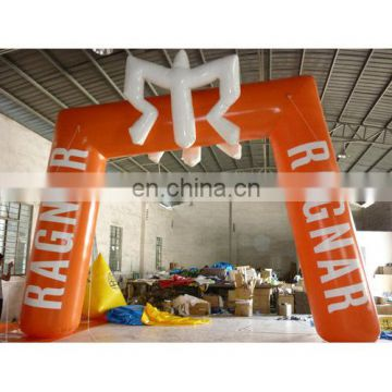 2014 new style inflatable promotional digital printing arch/sealed air arch/ arcj with model