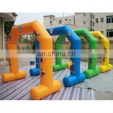 full digital printing inflatable promotional sealed air arch or gantry with customized size