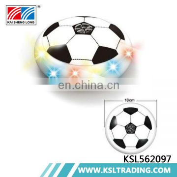 Electric 18cm hover children football toy game with light and music