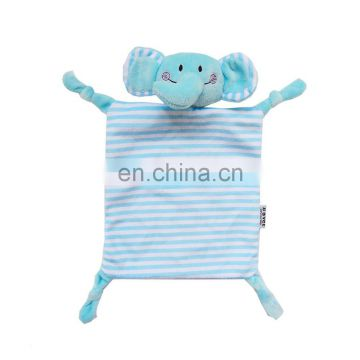 Baby blanket soft animal shape plush doudou comforter gift