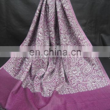 Viscose Jacquard Shawls In Beautiful Designs And Colors