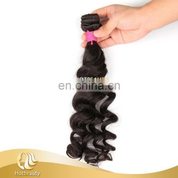 100% Brazillian Human Hair Without Chemical Processed Natural black Natural weaving