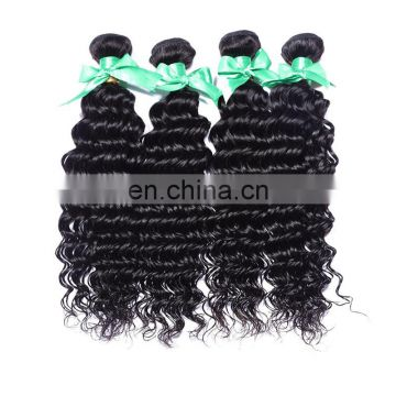Quality deep wave human hair weave