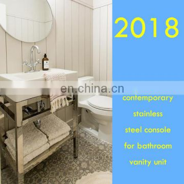 contemporary bathroom vanity frame for hotel contractor choice