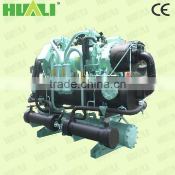 Double shell and tube type high efficient intelligent control water chiller for circuit board machine