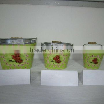 2104 New metal flower pot