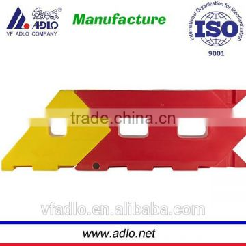 China ISO suppliers road secutiry traffic PE manual parking barrier