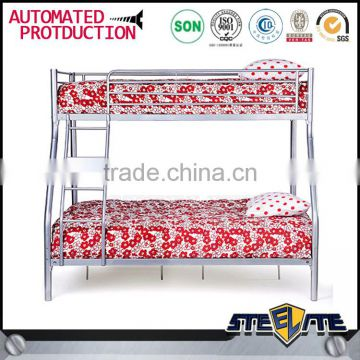 Low Cost Adult Bed Steel Cot Bed Design 2 Layer Metal Bunk Bed Of