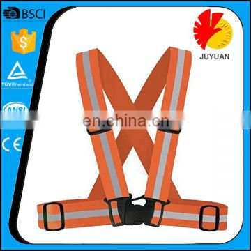high visibility sport running riding reflective vest/ High Visibility Reflective Safety Belt Vest