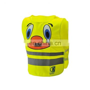 smile face childre Security Safety Vest Conforms to EN471 Class2