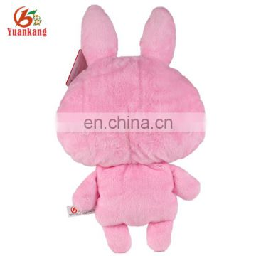 ICTI 20cm cute rabbit plush toy plush rabbit toy stuffed wholesale plush toys for kids