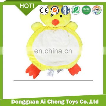 Dongguan Manufacturer customize plush animal mat for baby